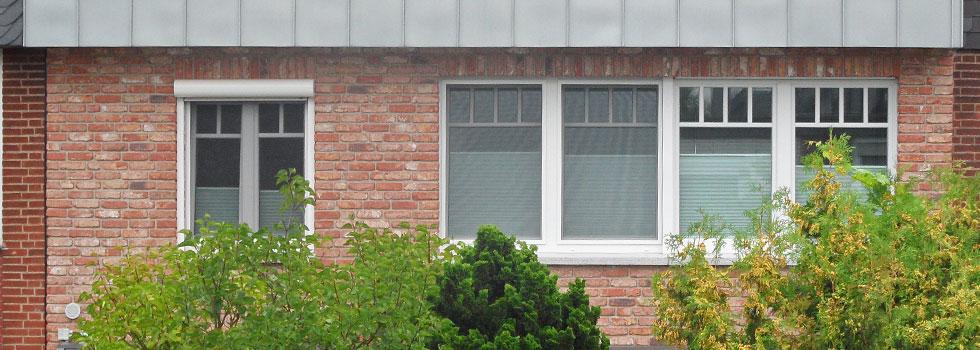 Die neuen Fenster von Roma sind eingebaut
