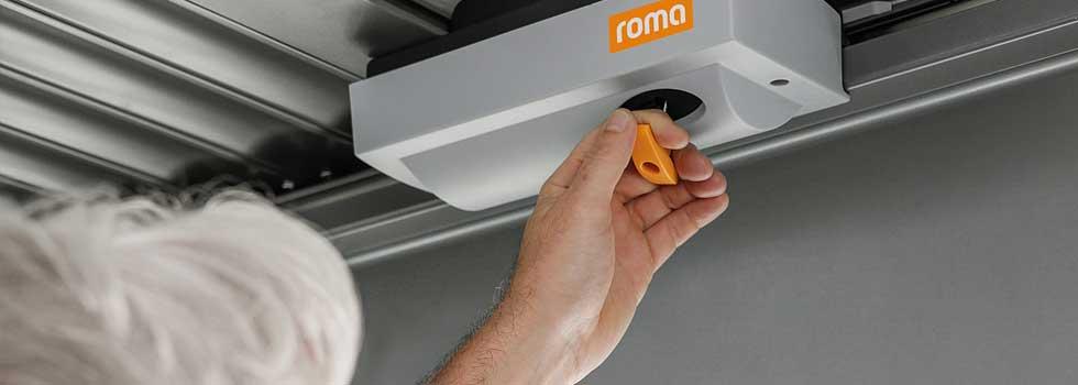 GECCO Motor für den Rolltor von Roma